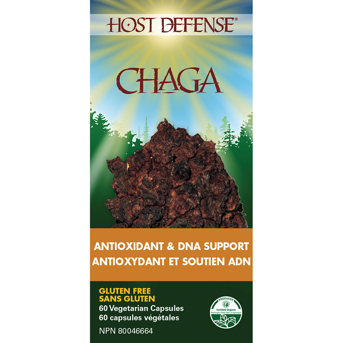 Host Defense Chaga 60 caps