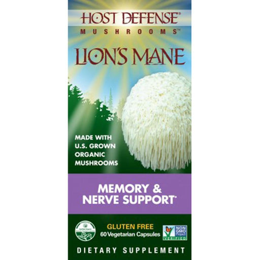 Host Defense Lion's Mane 60 caps
