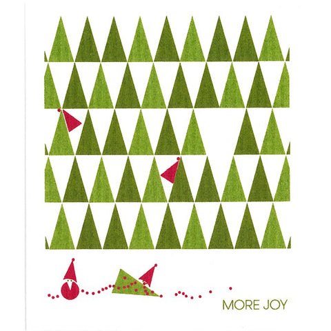 More Joy Dish Cloth Trees