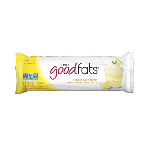 Love Good Fats Bar Lemon Mousse