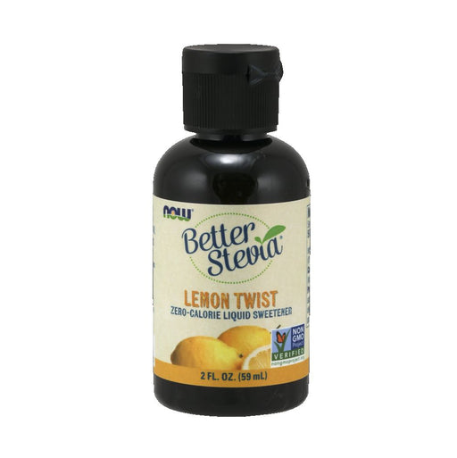 NOW BetterStevia Lemon Twist 60ml
