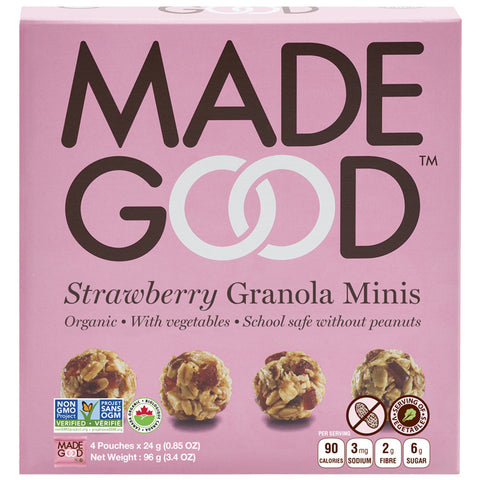 Madegood Strawberry Granola Minis