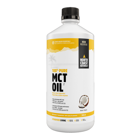 North Coast Naturals 100% Pure MCT Oil 946ml
