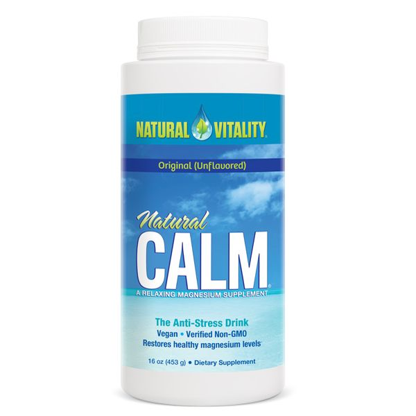 Natural Calm Magnesium Citrate Powder 16oz