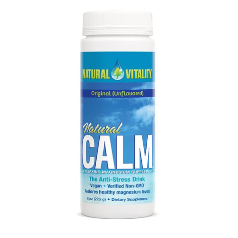 Magnesium Citrate Powder 8oz: Natural Calm