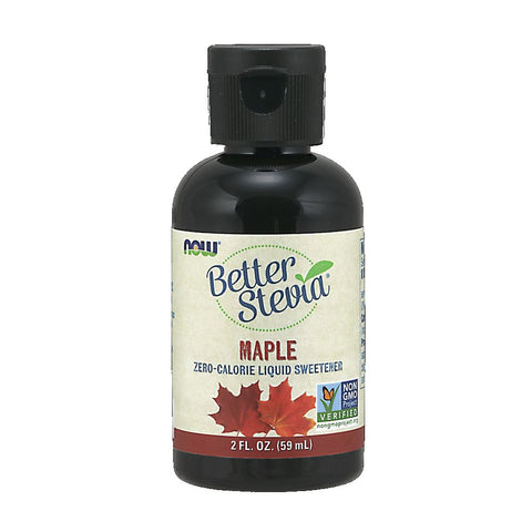 NOW BetterStevia Liquid Maple