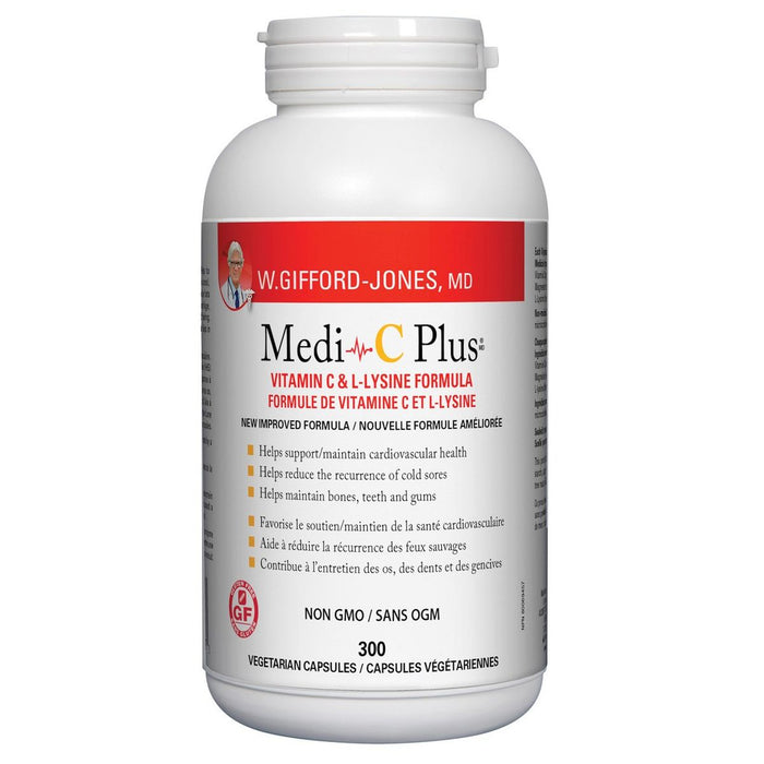 Dr. Gifford-Jones Medi-C Plus 300 Veggie caps
