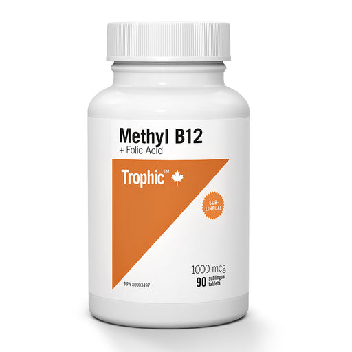 Trophic Methyl B12 with Folic Acid