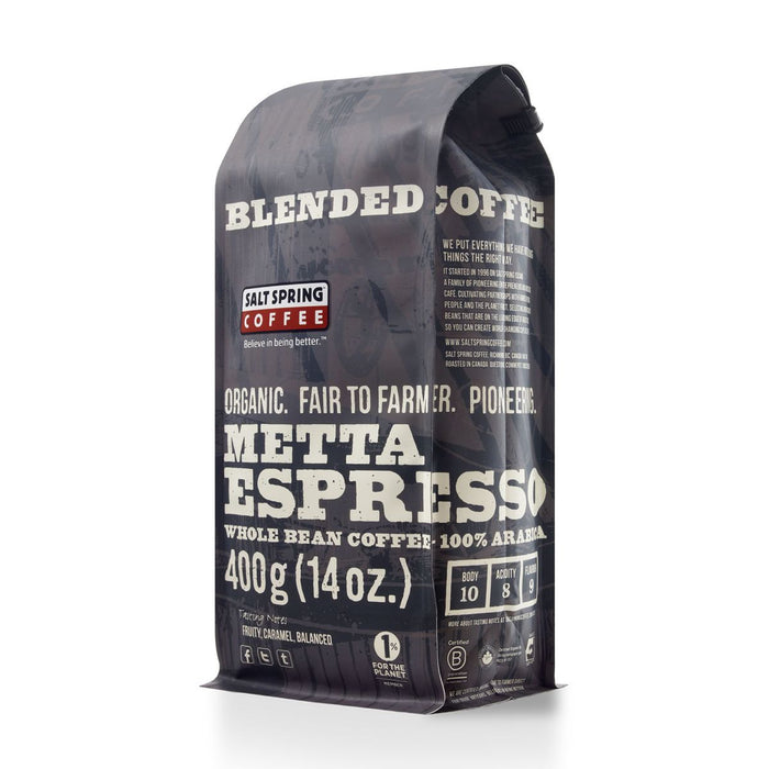 Metta Espresso Salt Spring Coffee