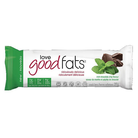 Love Good Fats Mint Single Bar