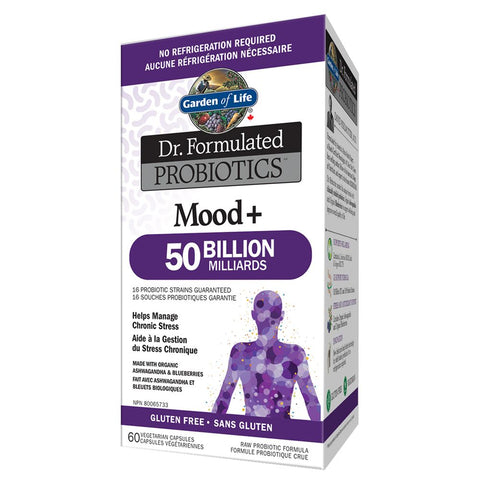 Dr. Formulated Mood+ 50 Billion 60caps : Garden of Life