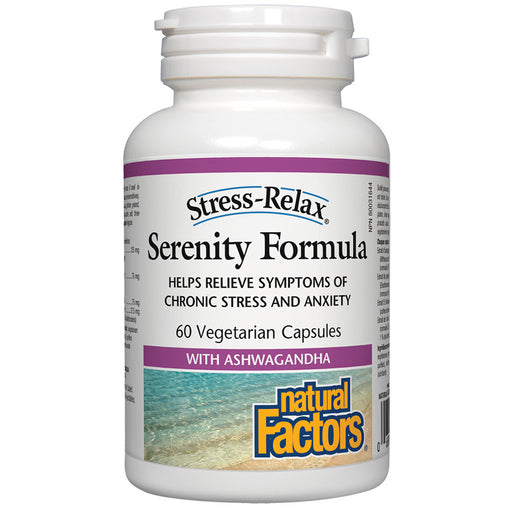 Natural Factors Stress and Relax Serenity formula 60 v-caps