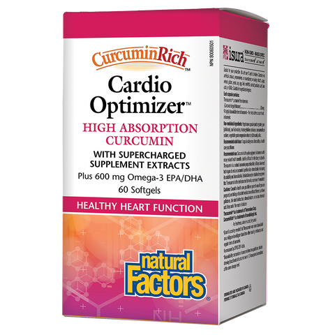 Natural Factors cardio optimizer