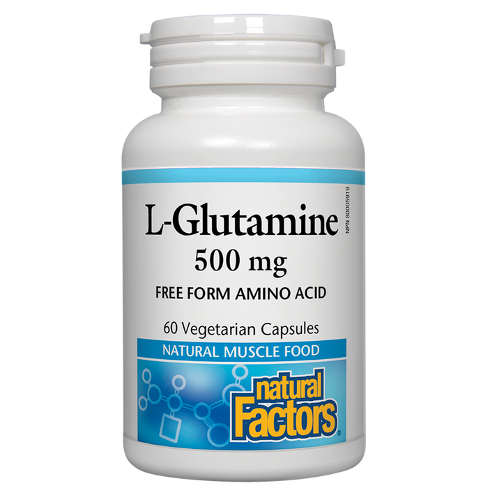 Natural Factors L-Glutamine 60 caps