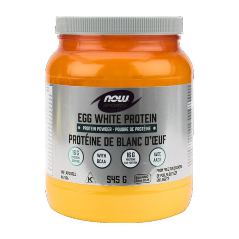 NOW Egg White Protein Powder 545g