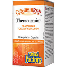 Natural Factors CurcuminRich Double Strength Theracurmin 60 caps
