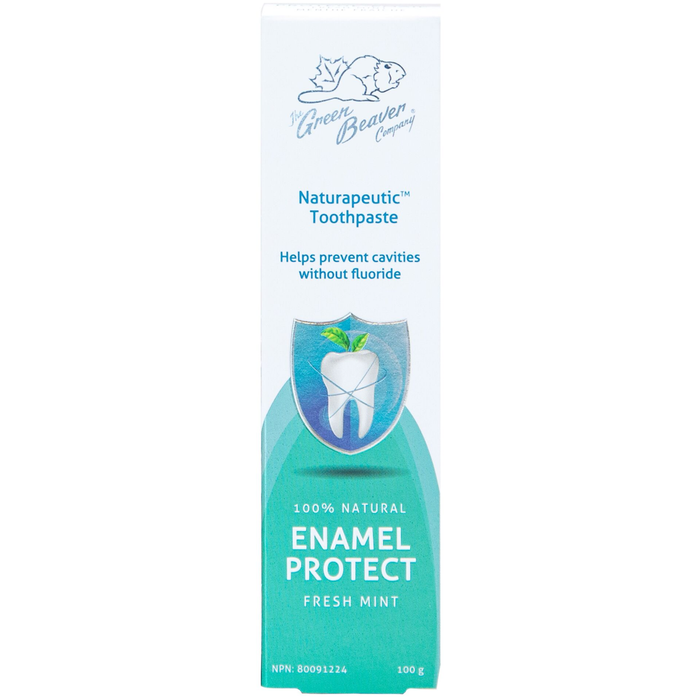 Green Beaver Naturapeutic Enamel Protect Toothpaste (Fresh Mint)