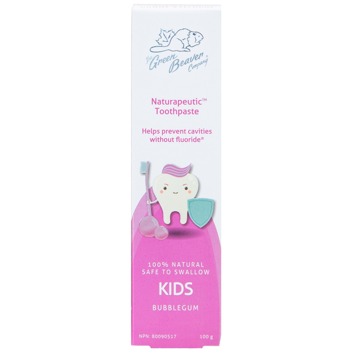 Green Beaver Naturapeutic Kids Toothpaste (Bubblegum)