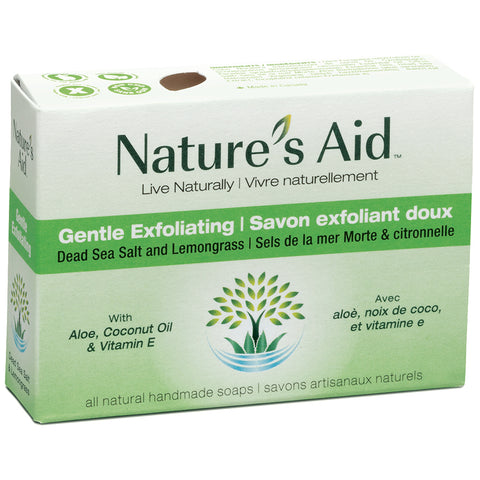 Nature's Aid Soap Bar Dead Sea Salt & Lemon Grass