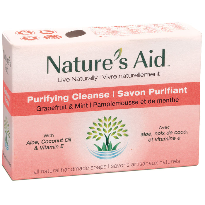 Nature's Aid Soap Bar Grapefruit & Mint