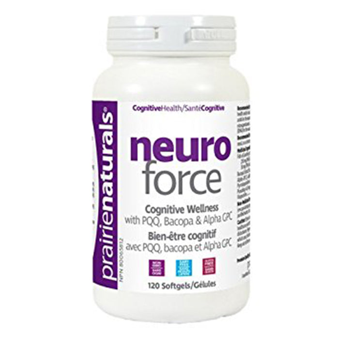 Prairie Naturals Neuro Force 120 softgels