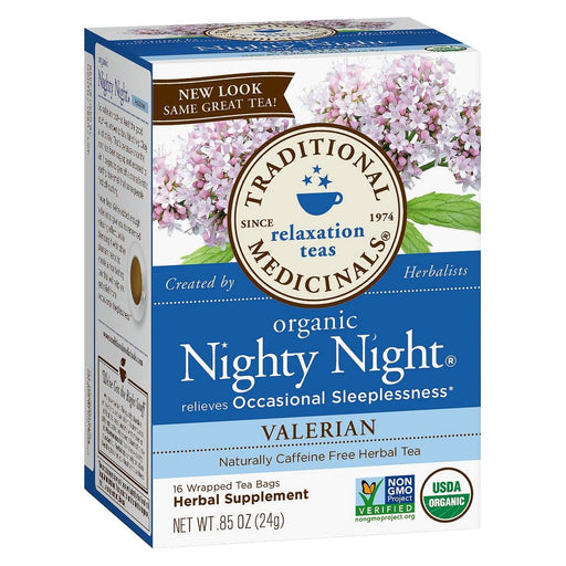 Traditional Medicinals Nighty Night Valerian Tea