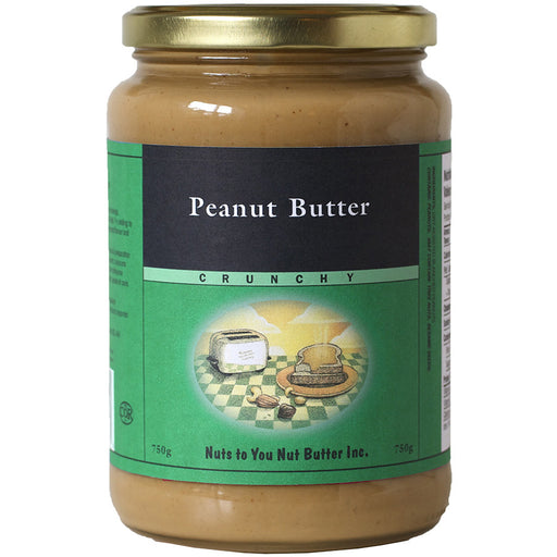 Nuts to You peanut butter crunchy 750g Best Buy