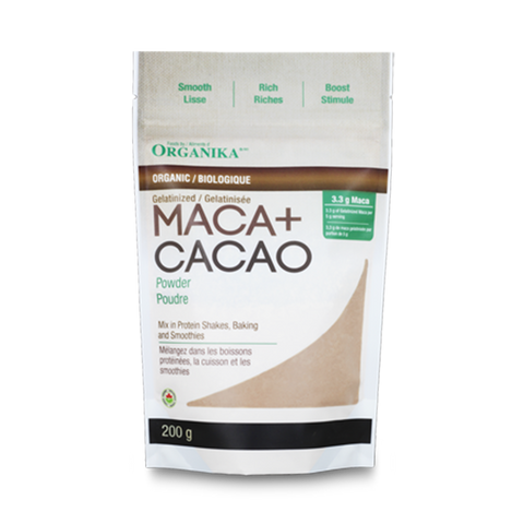 Organika Maca and Cacao Powder 200g