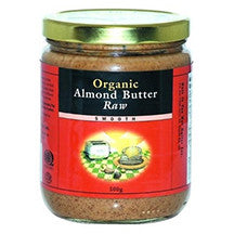 Nuts to You Organic Almond Butter Raw 365g