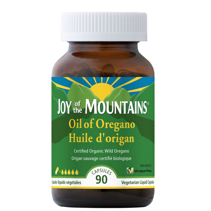 Joy of the Mountains: Oil of Oregano 90 caps