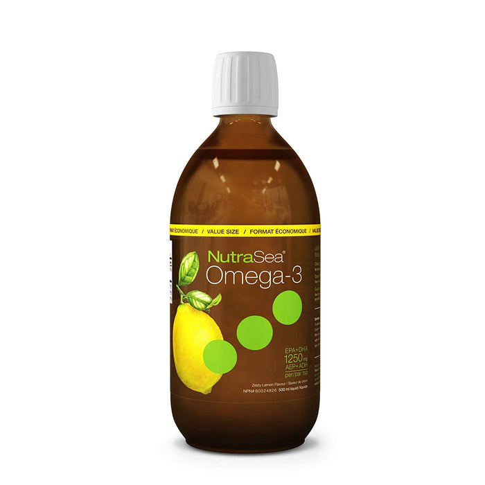NutraSea Omega 3 Lemon Flavour 500ml