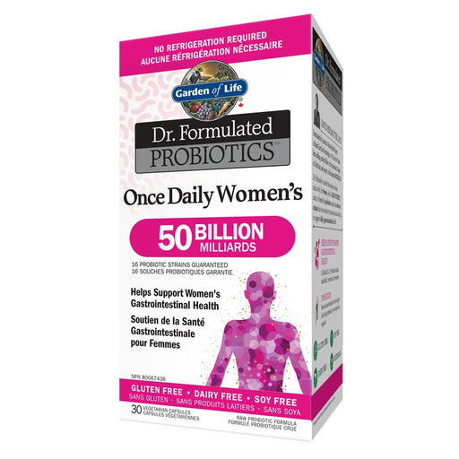 Dr. Formulated Probitoics Once Daily Women's 50 Billion 30 caps: Garden of Life