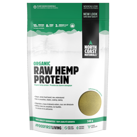 North Coast Naturals Raw Hemp Protein 340g