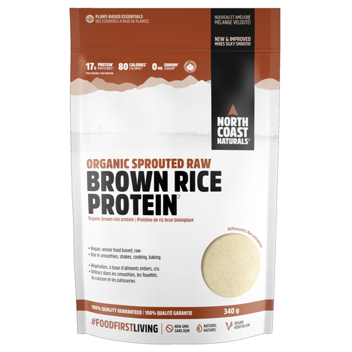 North Coast Naturals Sprouted Brown Rice Protein 340g