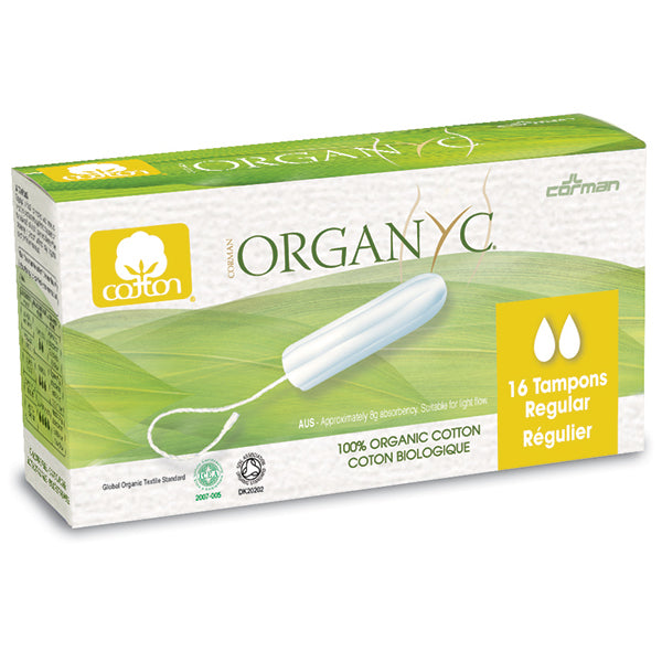 Organ(y)c Tampons Regular Flow 16 count