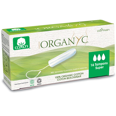 Organ(y)c Tampons Super 16 count
