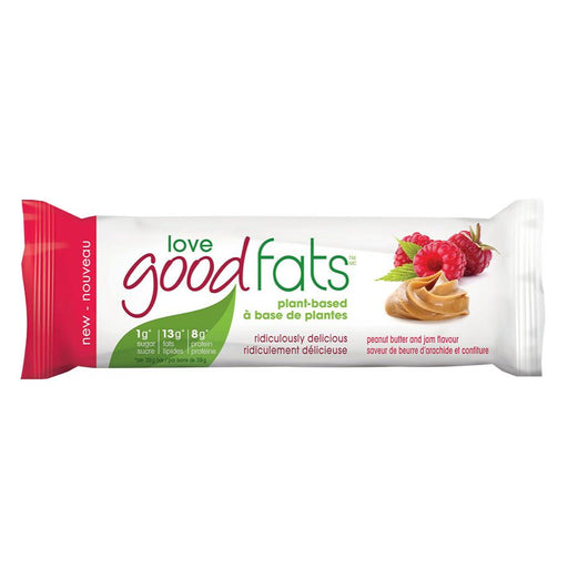 PB & J Love Good Fats Plant Based Single Bar
