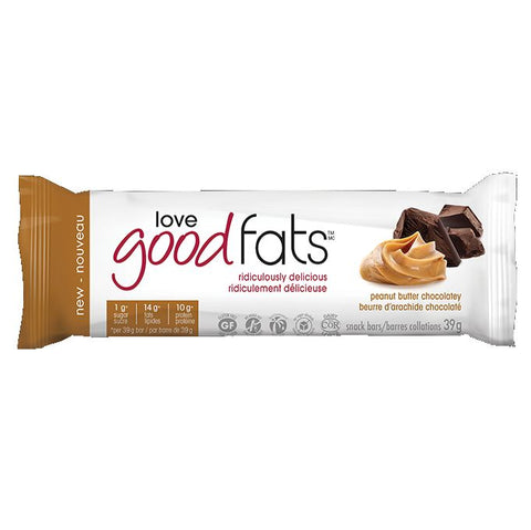 Love Good Fats Peanut Butter Chocolate Single Bar