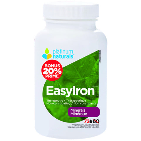 Platinum Naturals Easy Iron Bonus Bottle