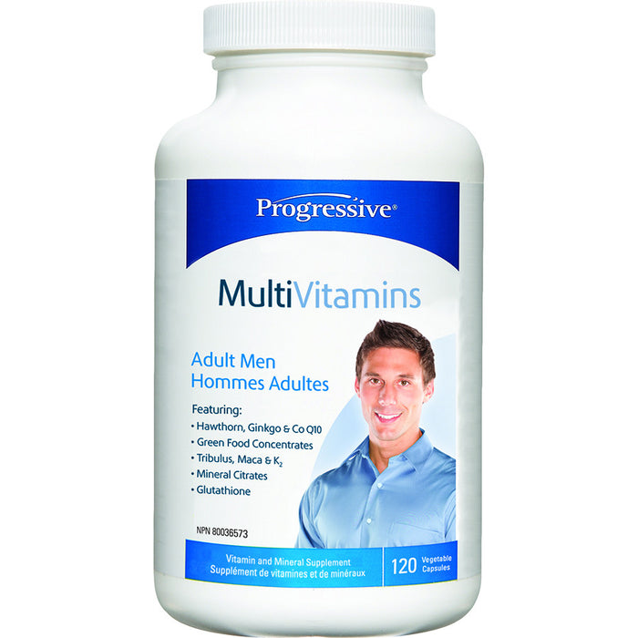 Progressive Men's Multivitamin 120 VCapsules Best Buy