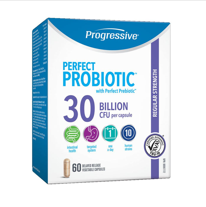 Perfect Probiotic 30 Billion 60 caps: Progressive