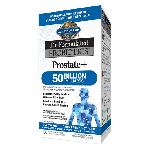 Dr. Formulated Prostate+ 50 Billion 60 caps: Garden of Life
