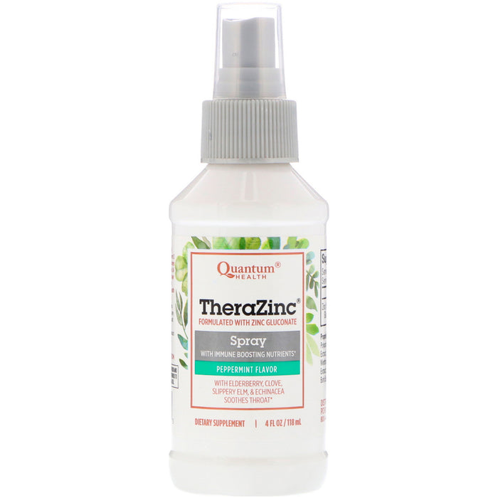 Quantum Therazinc Throat Spray 2oz