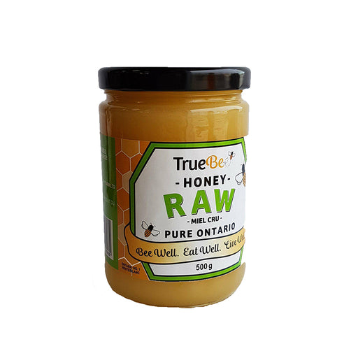 TrueBee RAW Honey 500g ***For curbside pick up only***