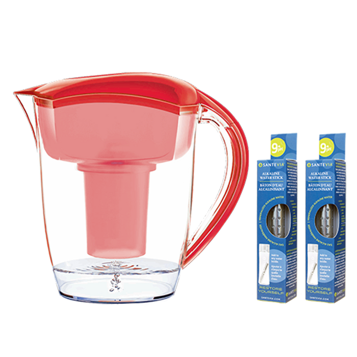 Santevia Water Pitcher  Red