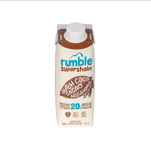 Rumble Supershake Dutch Cocoa 330ml
