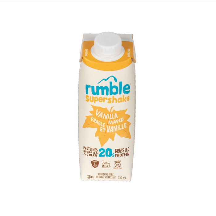 Rumble Supershake Vanilla Maple 330ml