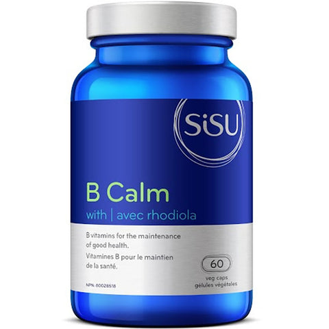 Sisu B Calm with Rhodiola 60 caps