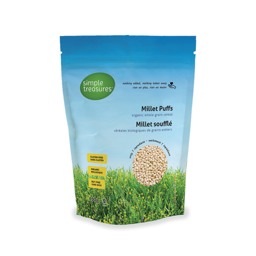 Simple Treasures Millet Puffs 175g