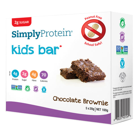 Simply Protein Kid Snack Bars Chocolate Brownie